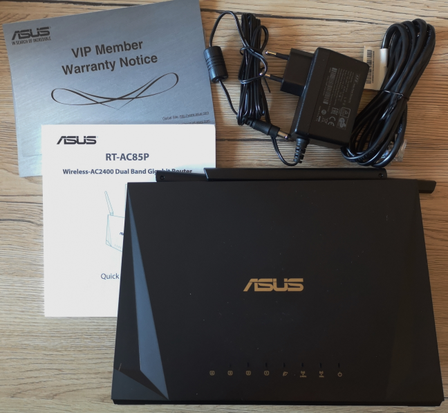 ASUS RT-AC85P - The contents of the package