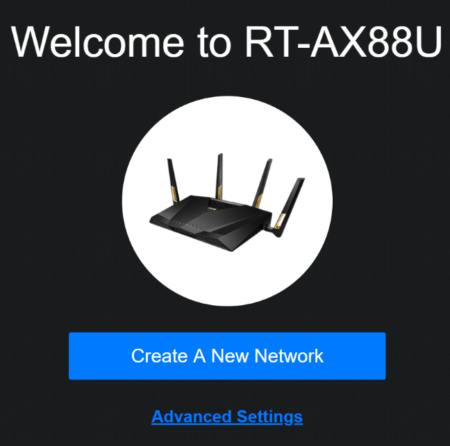 Welcome to ASUS RT-AX88U