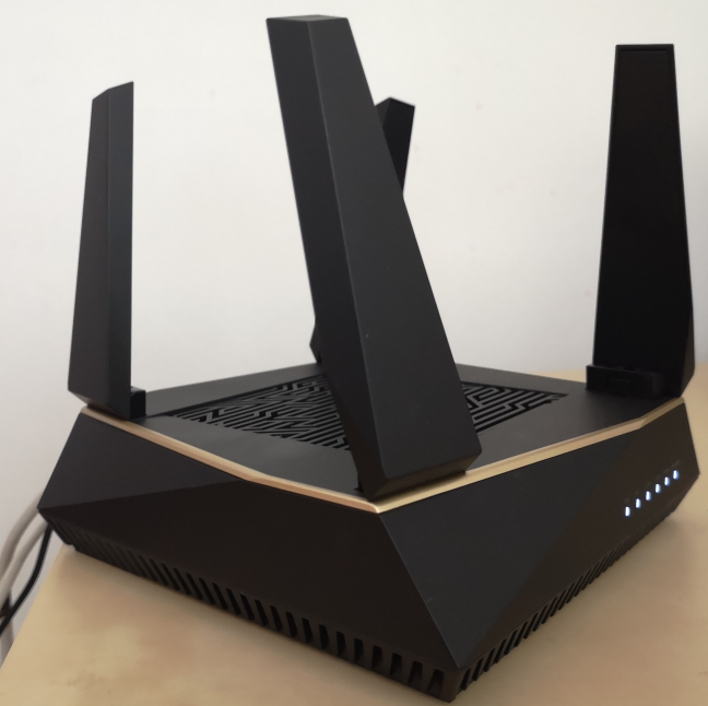 The ASUS RT-AX92U AX6100 AiMesh WiFi System