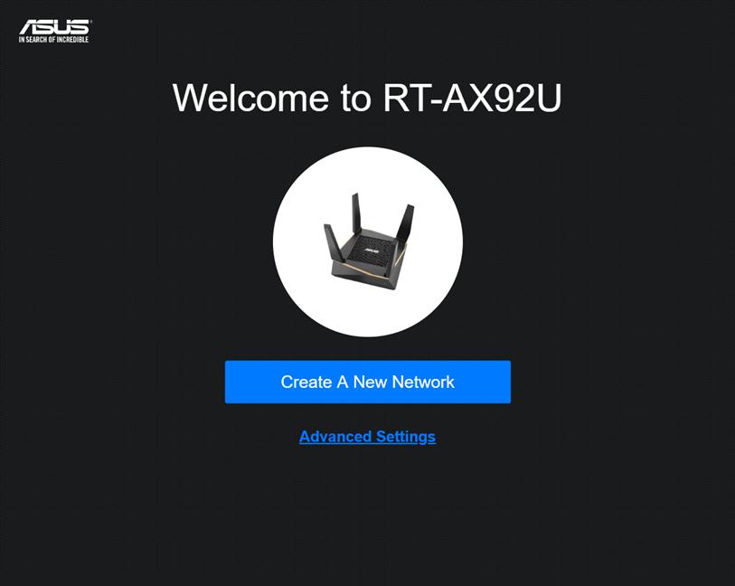 Setting up ASUS RT-AX92U