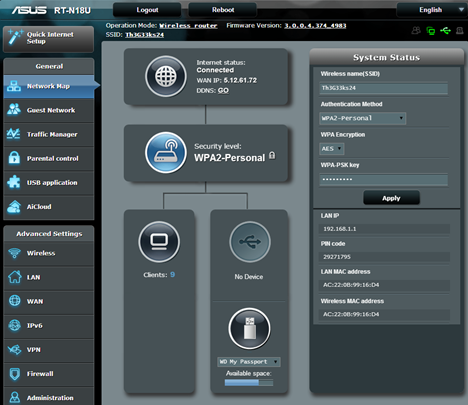 ASUS RT-N18U, wireless, router, 2.4GHz, review, performance, benchmarks