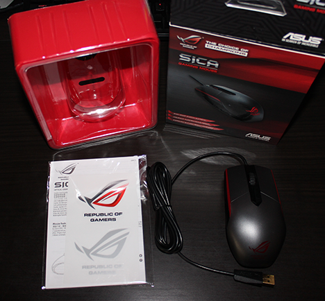 ASUS, Sica, Republic of Gamers, mouse, review, gaming