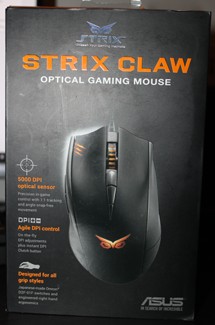 ASUS, Strix, Claw, mouse, review, gaming