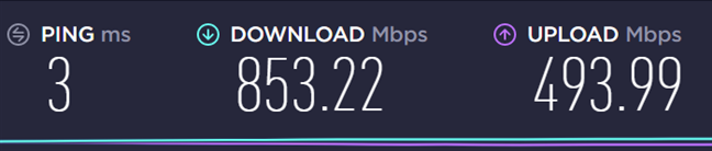 The speed you get with Wi-Fi 6 on the ASUS ZenBook Duo