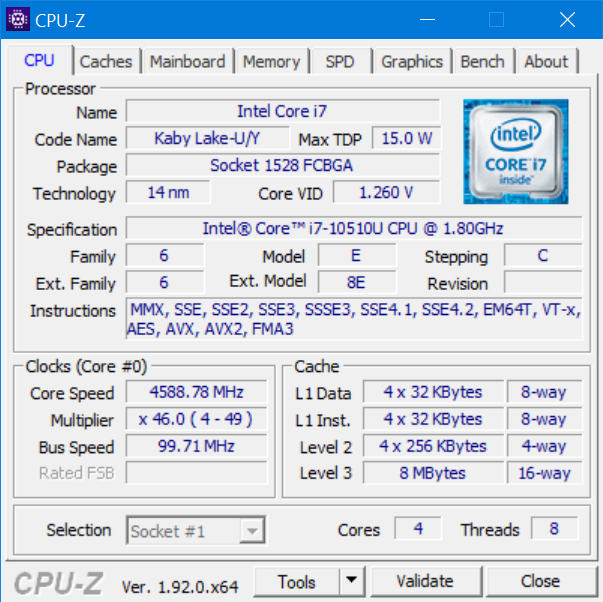 The processor inside the ASUS ZenBook Duo