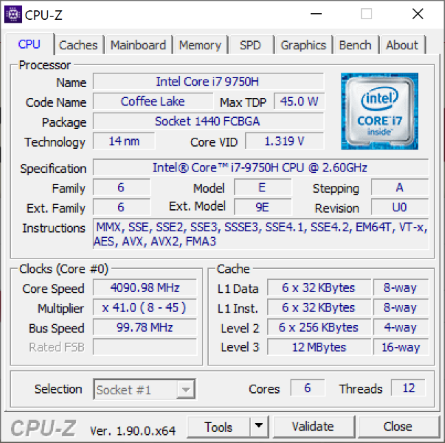 The processor on the ASUS ZenBook Pro Duo