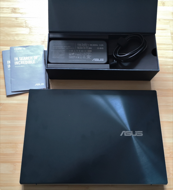 Unboxing the ASUS ZenBook Pro Duo