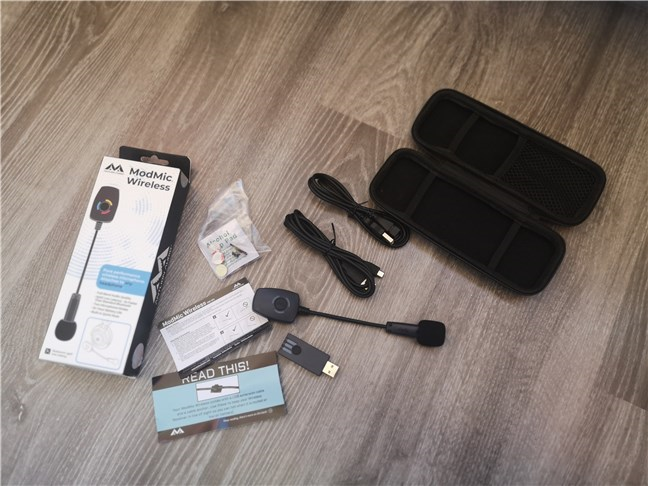 Antlion Audio ModMic Wireless: What's inside the box