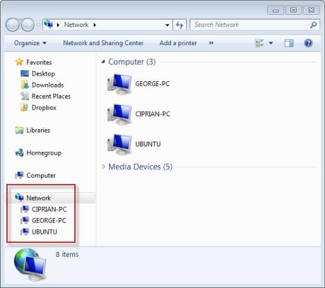 Folder Sharing