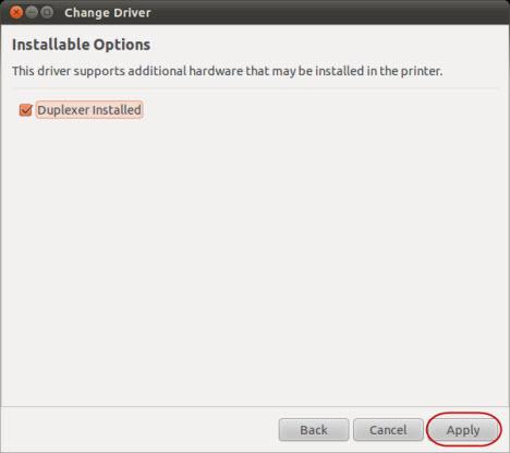 Ubuntu Printers