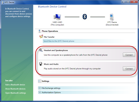 Connecting Smartphones to a Windows 10 PC via Bluetooth Device