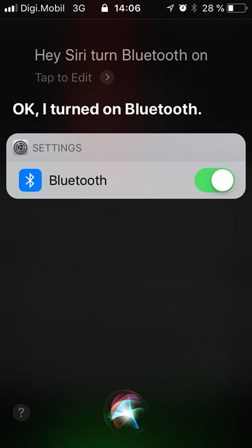 iPhone, iPad, Bluetooth