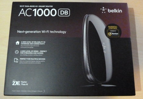 Belkin AC 1000 DB Wi-Fi Dual-Band AC+ Gigabit router