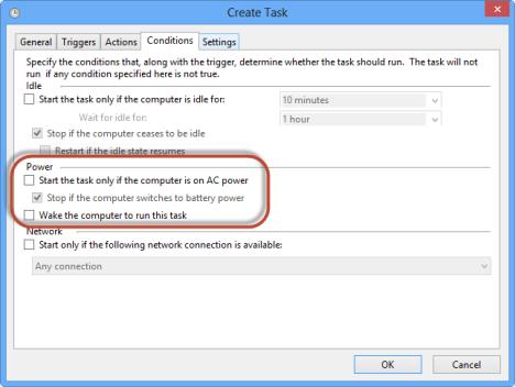 Windows 8 - Schedule Task - Boot to Desktop