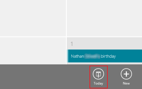 Windows 8 - How to work with the Calendar app