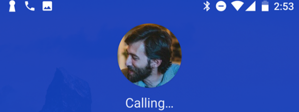 Dialing a number
