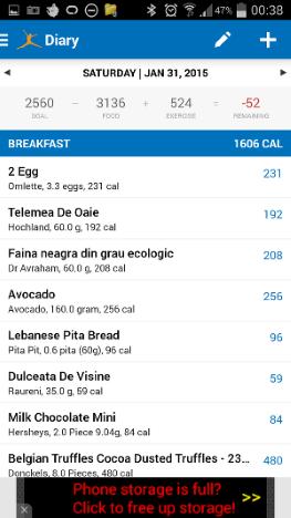 log, calorie, deficit, MyFitnessPal, wearable, device