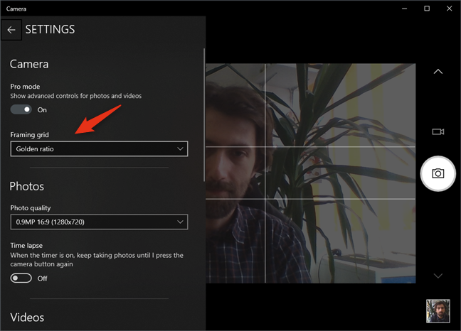 How to test and use your webcam in Windows 10, with the ...