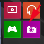 Windows 8.1, Camera, app, webcam, pictures, video, record