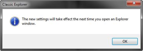Classic Shell - Windows Explorer