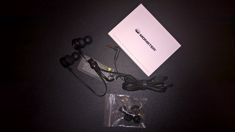 Monster Clarity HD High Definition In-Ear Headphones, review, sound, audio, headphones, in-ear