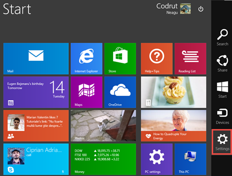 clear, personal, information, tiles, apps, Windows 8.1