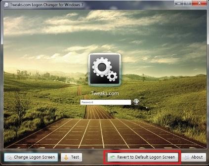 Logon Screen