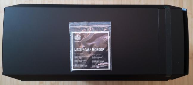 Cooler Master MasterCase MC600P and its user manual