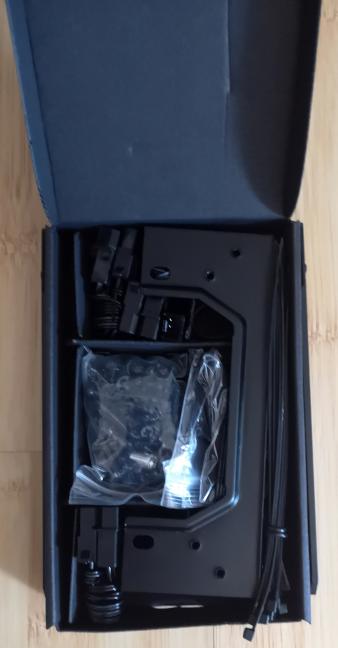 The accessory box for Cooler Master MasterCase MC600P