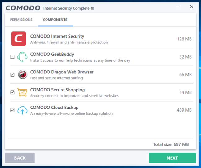 Comodo, Internet Security, Complete