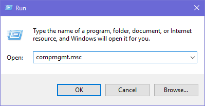 Computer Management, Windows