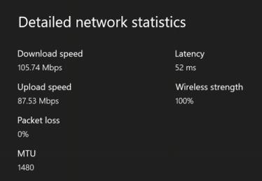 La velocidad de Wi-Fi que obtienes en una Xbox One