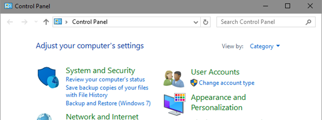 Where Is The Control Panel In Windows 10 15 Ways To Open It Digital Citizen