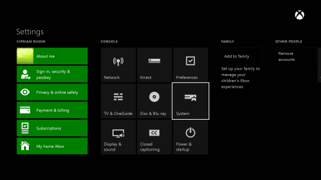 Xbox One, update, controller, headset, firmware