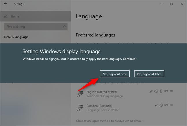 Windows 10 le pide que cierre sesión en su cuenta