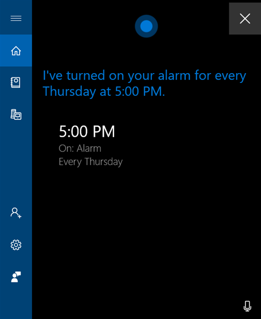 Be specific with your alarm