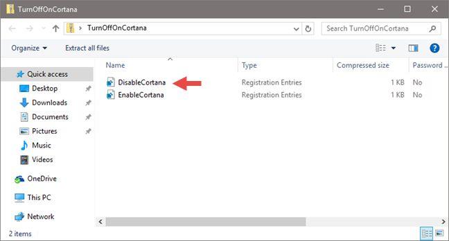 Cortana, Windows 10, disable, turn off