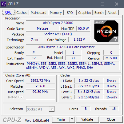 See all the details about the processor inside your PC, using the CPU-Z app