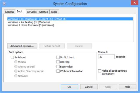 Dual Boot Windows 8 with Windows 7, Windows Vista or Windows XP