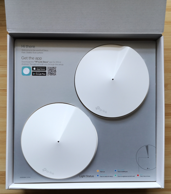 Unboxing the TP-Link Deco M5