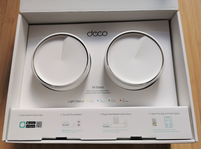 Unboxing the TP-Link Deco X20