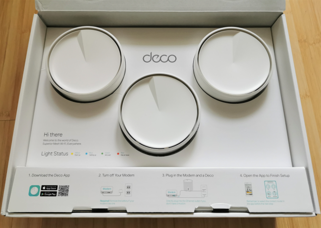 Unboxing the TP-Link Deco X60