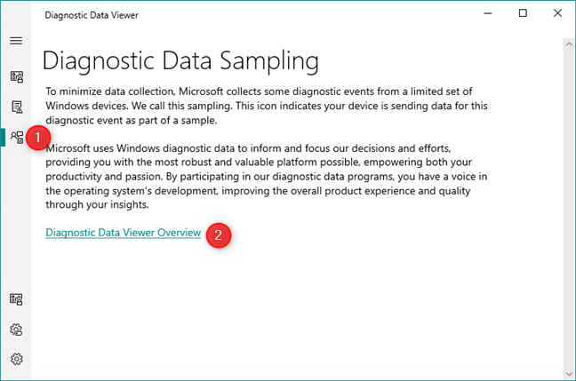 The Microsoft Sampling Policies for Windows 10 data collection