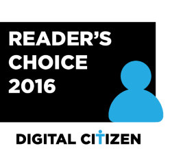 Digital Citizen, awards, best, security, product, antivirus, Windows, 2016