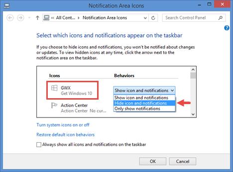 Windows 10, disable, remove, reserve, upgrade, app, notification