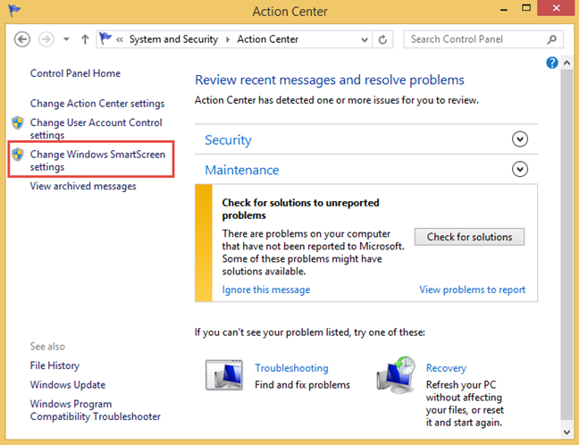 Windows, SmartScreen, Windows Defender SmartScreen