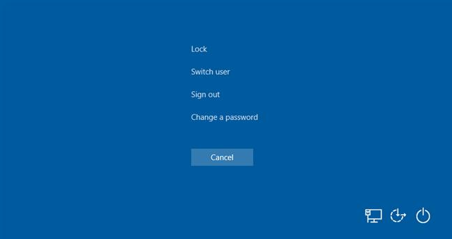 Opción del Administrador de tareas eliminada de la pantalla Ctrl + Alt + Supr