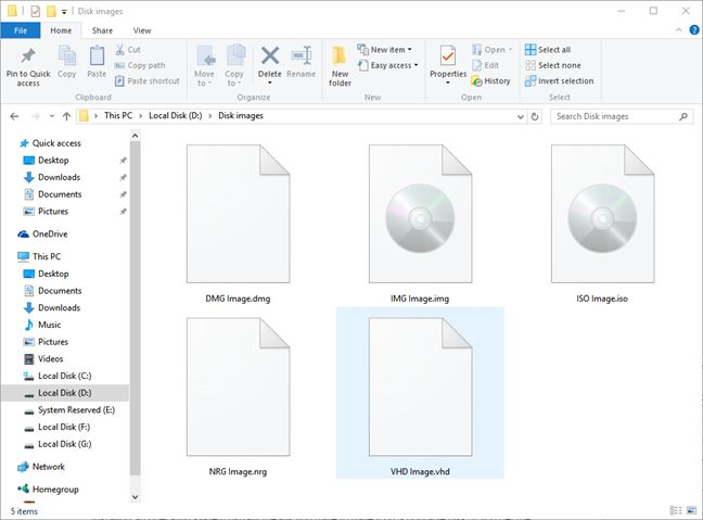 disc, image, file, iso, bin, nrg, img, what is, how to, create, mount, burn