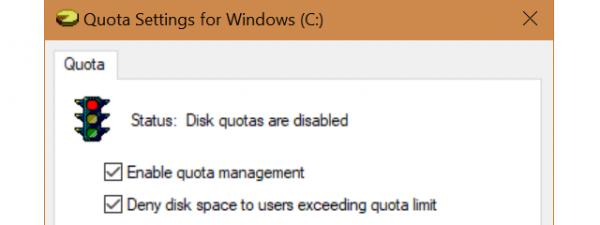 Disk quota