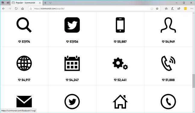 The iconmonstr.com website